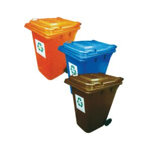 RB240 (RDC) Recycle Bin c/w Wheels