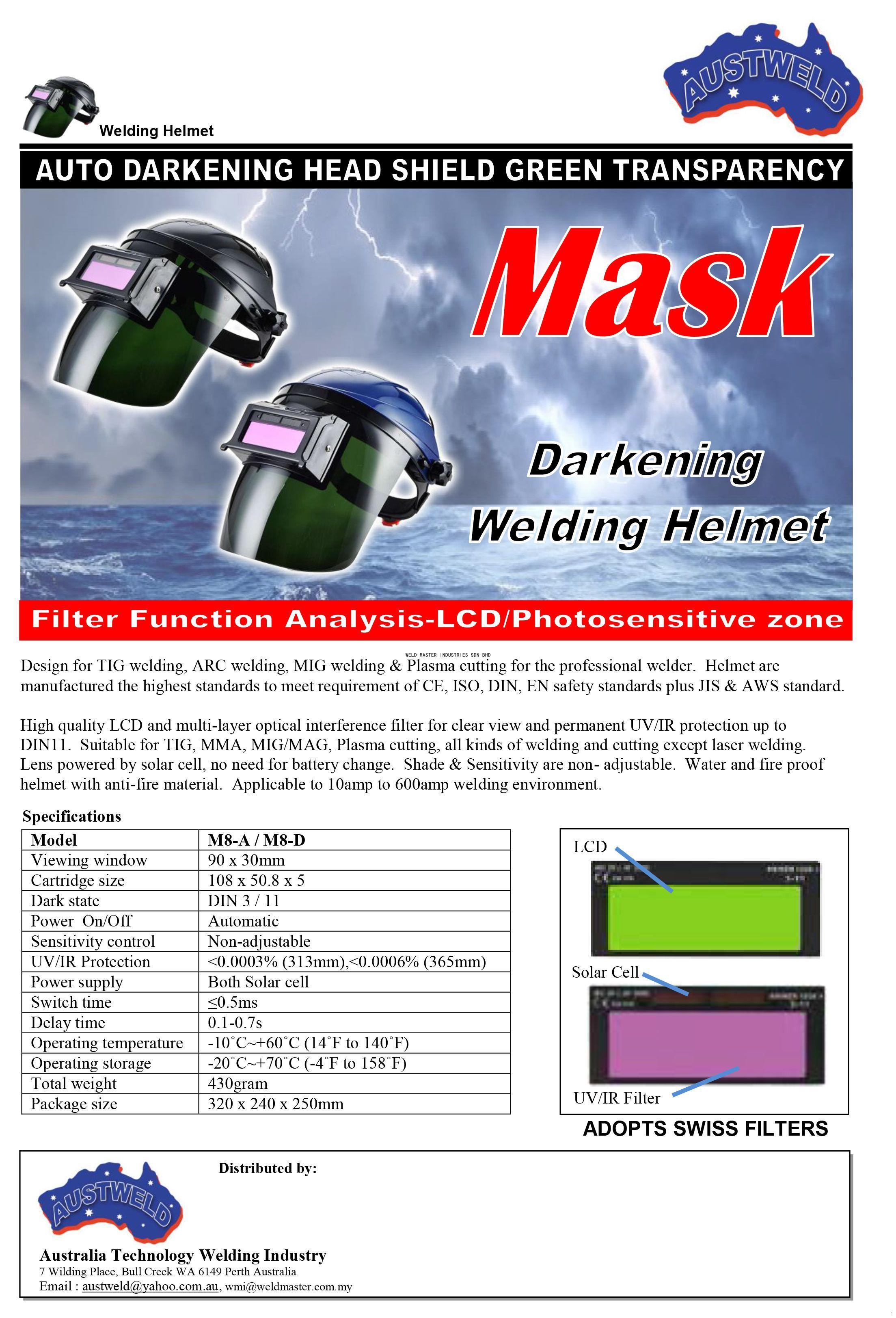 welding helmet_M8-A