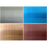 HL color stainless steel plate