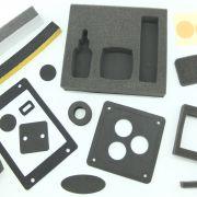 Die-cut foams, sponge, tapes, insulation / Diecut specialties
