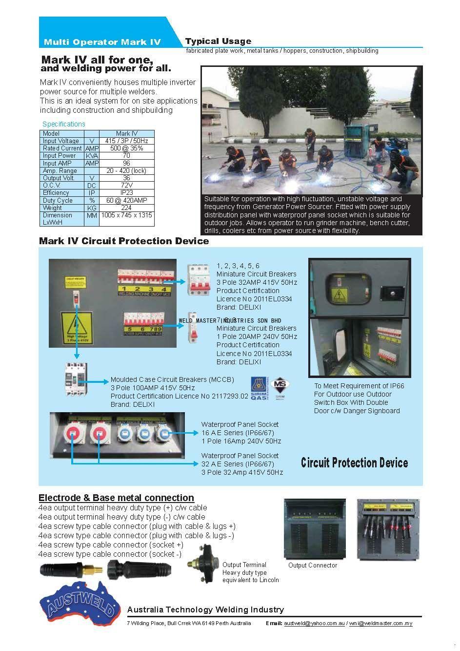 Multi OperatorMark IV_Page 2_Australia Address