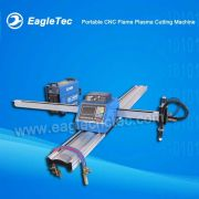 Portable CNC Flame Plasma Cutting Machine with One Flame Torque and One Plasma Torque
