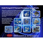 Cold forged & Turned
